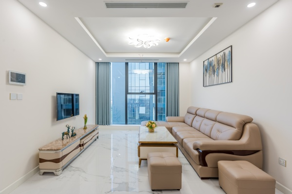 Nice apartment for rent. Modern design with 3 bedrooms. S6 Sunshine City, Ciputra Hanoi